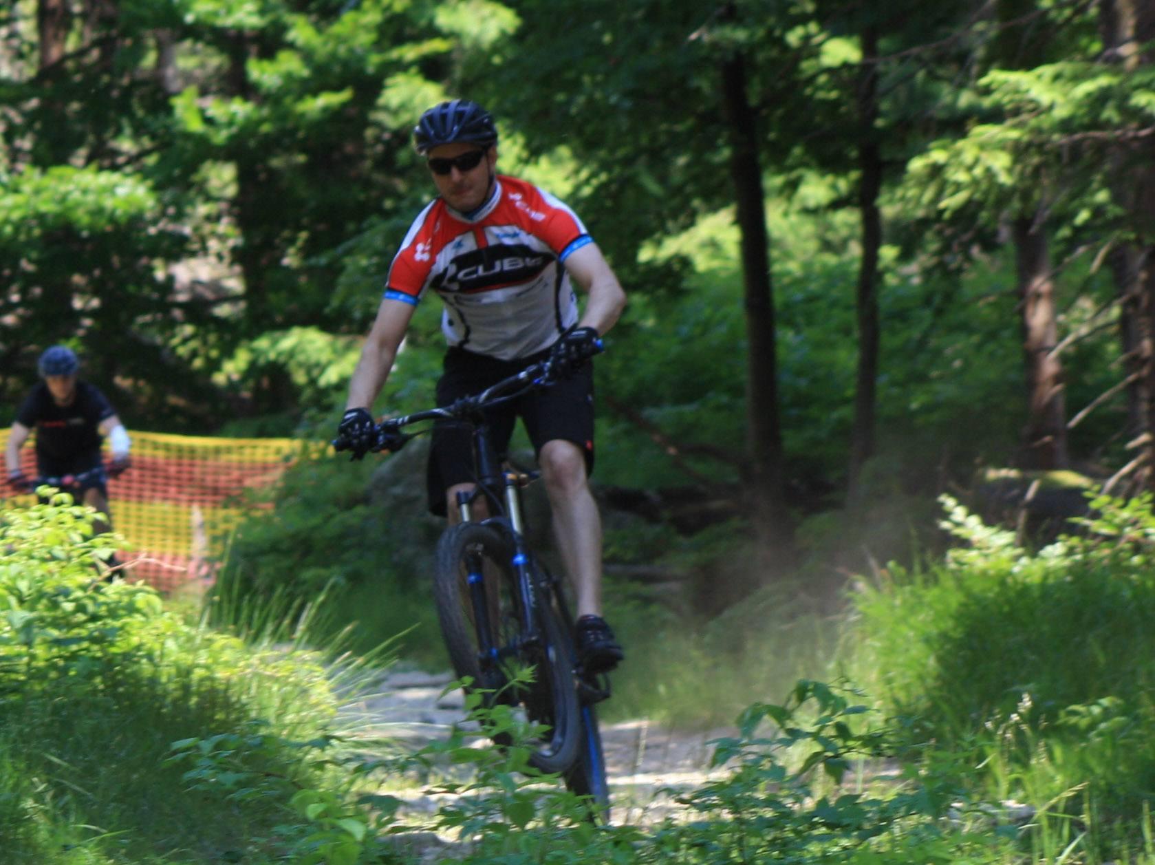 Mountainbiken auf dem Ochsenkopf